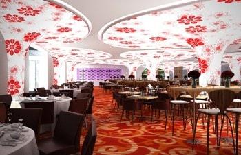 Натяжные потолки для ресторанов и баров
